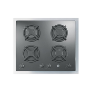 Hoover Built-In Hob Gas 60cm 4 Burners Tempered Black Glass HGV640B 1