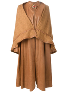 Roberta di Camerino Pre-Owned Roberta di Camerino Pre-Owned layered long coat