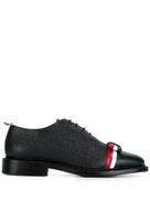 Thom Browne Wholecut tricolour bow shoe