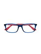 Ray ban RAY-BAN JUNIOR bicolour rectangular glasses