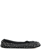 N.Peal jewelled slippers