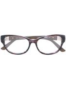 Swarovski Eyewear cat-eye frame glasses