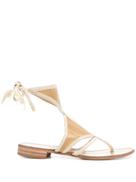 Prada Pre-Owned cutout flat sandals