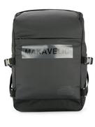 Makavelic Ludus bow-logo universe daypack