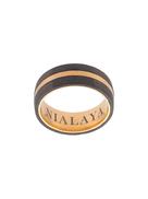 Nialaya Jewelry paneled curved ring