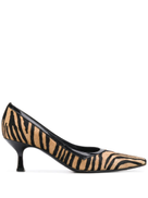 Versace Pre-Owned 2000's zebra print pumps