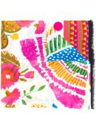 La Doublej patterned scarf