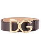 دولتشي آند غابانا حزام بمشبك يحمل علامة Dolce & Gabbana