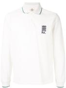 قميص بولو مطبوع بشعار Kent & Curwen