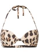 Dolce Gabanna Dolce & Gabbana leopard print bikini top