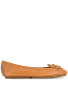 Michael Michael Kors leather moccasin loafers