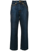 Self-Portrait Self-Portrait X Lee straight leg jeans