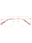 Chloé Eyewear Chlo Eyewear double nose-bridge glasses