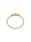 Maria Black 14kt yellow gold Ally diamond ring