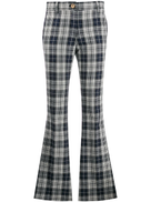 Hilfiger Collection plaid kick flare trousers