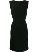 Alaïa Pre-Owned Alaa Pre-Owned 2000 fitted dress