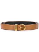 KHAITE leather belt