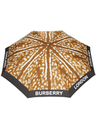 Burberry Deer Print Folding Umbrella