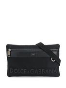 Dolce Gabanna Dolce & Gabbana raised-logo belt bag