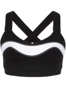 No Ka' Oi cross back sports bra