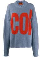 colville logo printed jumper