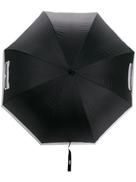 Karl Lagerfeld Cat Face bicolour umbrella