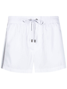 Dolce Gabanna Dolce & Gabbana short swimming shorts with logoed ribbon
