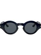 Giorgio Armani round frame sunglasses