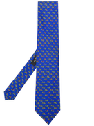 Etro Micro Pegaso-print silk tie