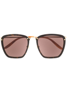 Gucci Eyewear square tinted sunglasses