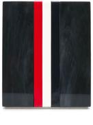 Thom Browne enamel stripe pen holder