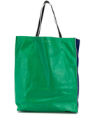 Marni two-tone large tote bag