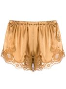 Dolce Gabanna Dolce & Gabbana lace trim shorts
