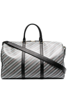Thom Browne striped zip-around holdall