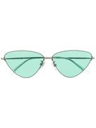 Balenciaga Eyewear Invisible cat eye-frame sunglasses