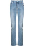 Jacob Cohen faded slim-fit jeans