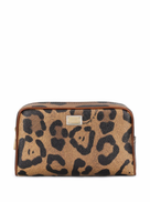 Dolce & Gabbana leopard-print make up bag