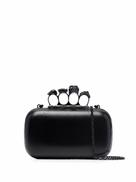 Alexander McQueen Skull Four-Ring clutch bag