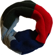 Multi Color Wool Infinity Scarf For Kids