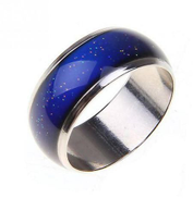 Unisex Magic ring Creative mood color changing Size 10
