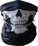 adel2657 Scarf for head and face Black color printed on skull Item No 706 - 7 - 1