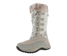 Pacific Mountain White Off White Shearling & Snow Boots For Women