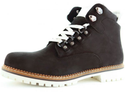 DarkWood Black Lace Up Boot For Women
