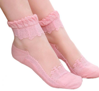 Other Woman pink socks