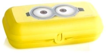 Tupperware Square Lunch Box - Lime Yellow