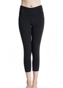 Summer Casual Fitness Yoga Leggings Black Sport Pant For Women