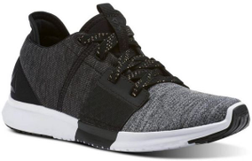 Reebok Trilux Run P Running Athletic Shoes For Women - Black & Grey