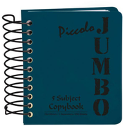 Mintra Piccolo Jumbo Lined Note Book- 7.310cm - 200 Sheets Dark Blue