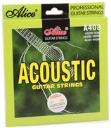 alice 6pcs set Acoustic Guitar Strings Copper Core Wood Guitar String of Ballads