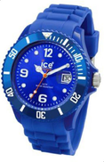 Ice-Watch Men's SI.BE.B.S.09 Sili Collection Blue Plastic and Silicone Watch